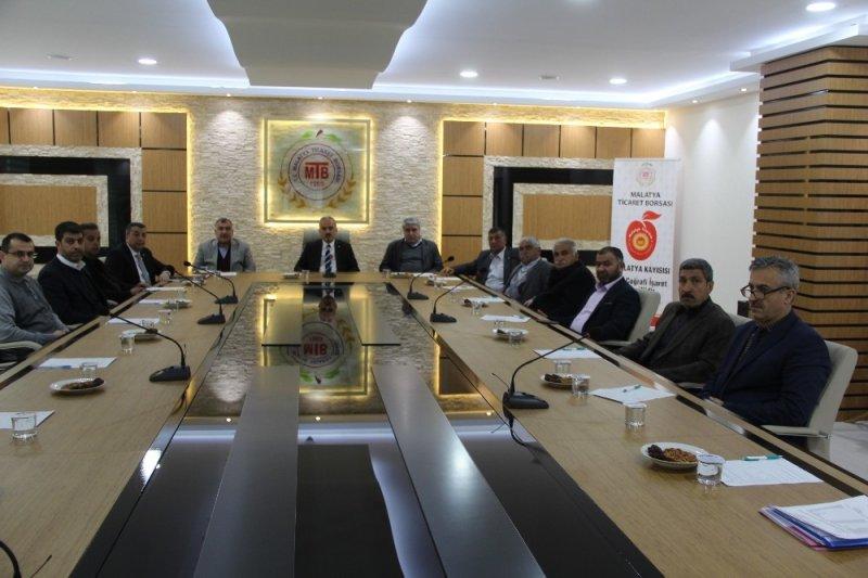 MTB Mart ayı meclis toplantısını düzenledi