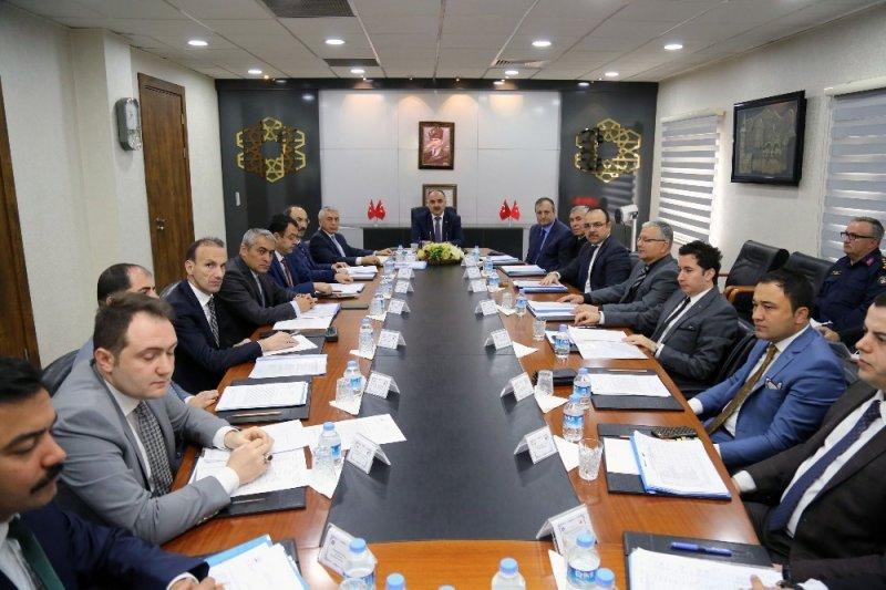 Seçim Güvenliği Toplantısı, Vali Şehmus Günaydın Başkanlığı'nda Yapıldı