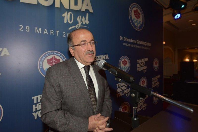 Başkan Gümrükçüoğlu'nun vefa gecesi