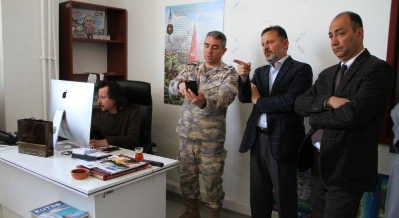 Tuğgeneral Gündüz'den DPÜ-İLTEM'e ziyaret