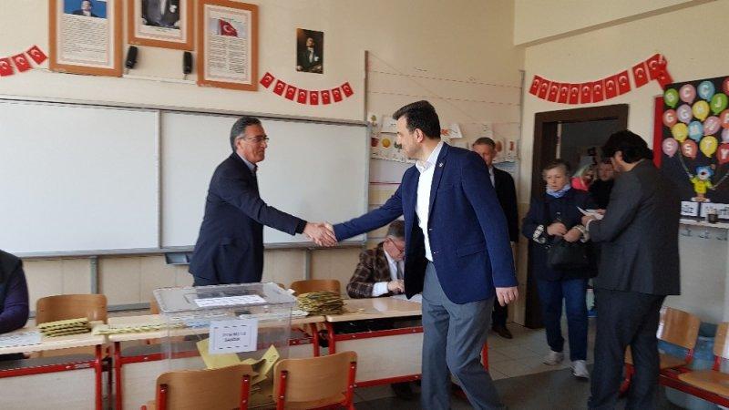 Milletvekili Mustafa Esgin oyunu kullandı