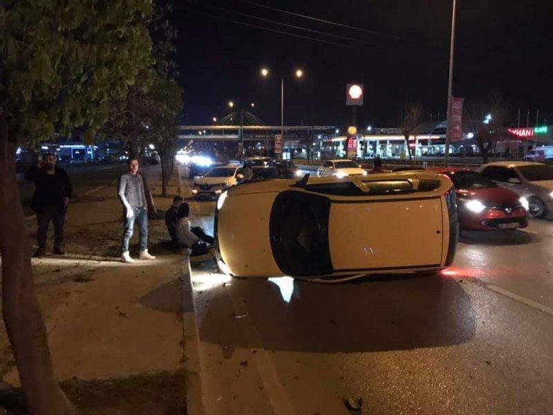 Aynı yolda bir gün arayla 2 kaza