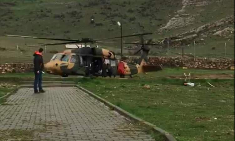 Jandarma oy pusulaları ve görevlileri askeri helikopterle taşıdı