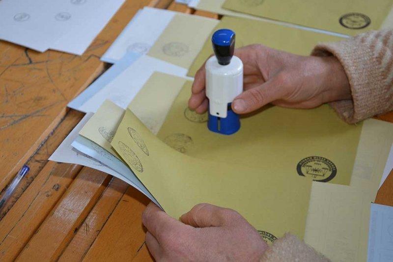 Ortaca'da adaylar oylarını kullandı