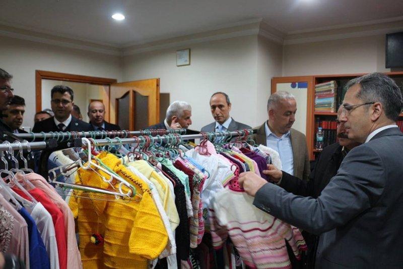 Tosya Sosyal Market ihtiyaç sahiplerine hizmet vermeye başladı