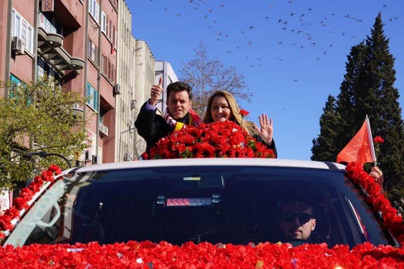 Çorlu'da kazanan Ahmet Sarıkurt oldu