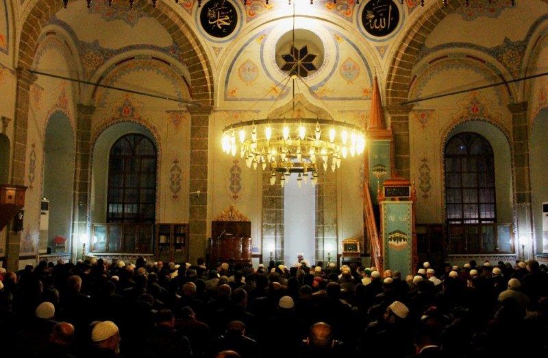 Samsun'da Mirac Kandili idrak edildi