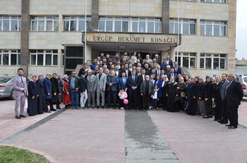 Ürgüp Belediye Başkanı Aktürk, mazbatasını alarak göreve başladı