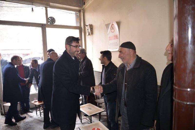 AK Parti'nin yeni belediye başkanından teşekkür ziyareti