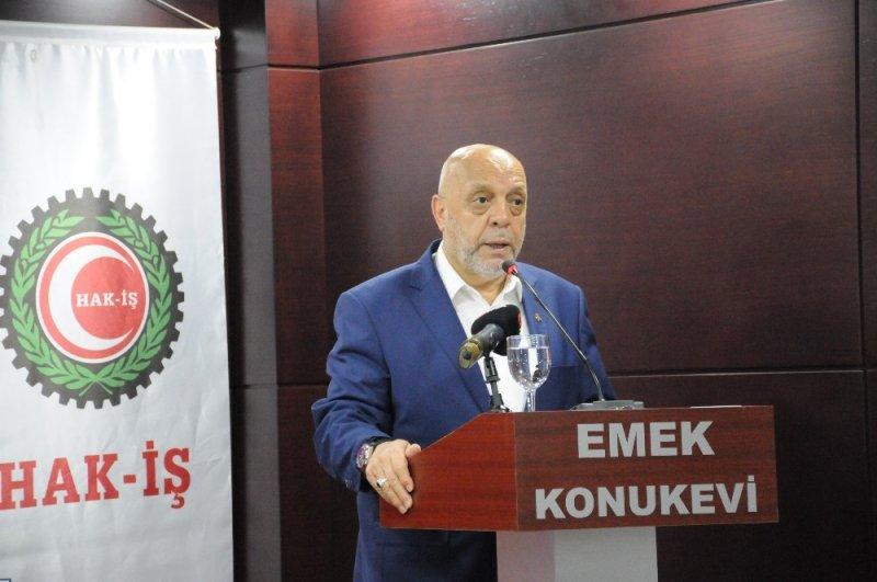 HAK-İŞ/HİZMET-İŞ Sendikası Başkanlar Kurulu toplandı