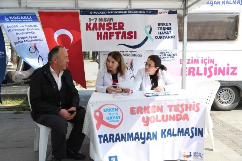 """Büyükşehir yetkililerinden uyarı: """"Kanser'de erken teşhis hayat kurtarır"""""""