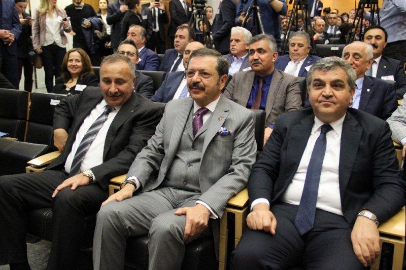 """Rifat Hisarcıklıoğlu: """"Eşleştirme projeleri için AB'den 2,5 milyon euro hibe destek sağladık"""""""