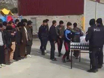 Van'da 75 kaçak göçmen yakalandı