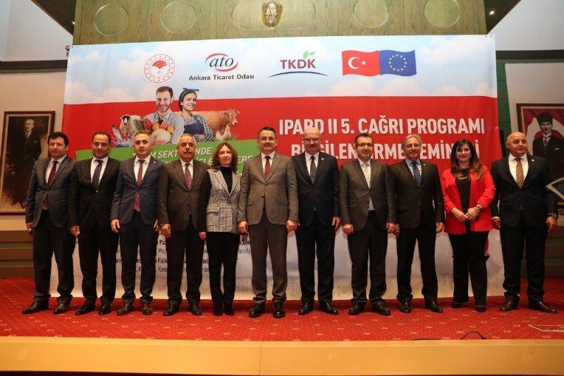 Tarım sektörüne yönelik destekler ATO'da tanıtıldı