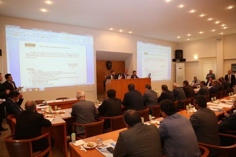 Ereğli Belediye Meclisi Nisan ayı toplantısını gerçekleştirdi