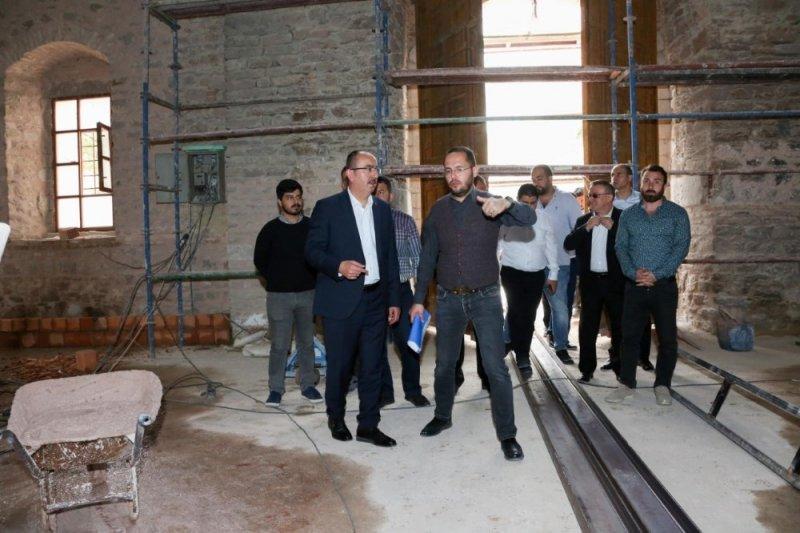 """Başkan Kavuş: """"Tantavi, şehrin kültürüne büyük katkı sağlayacak"""""""