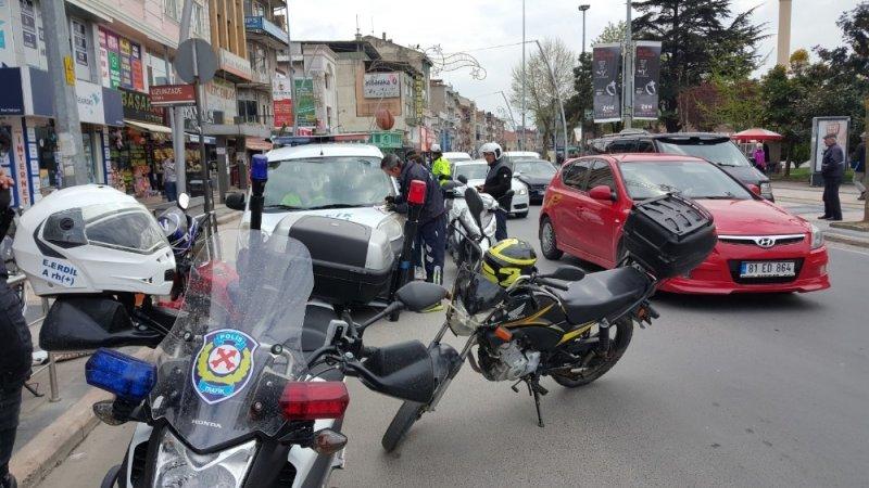 Denetimler işe yaradı kasksız motosiklet kullanan çıkmadı