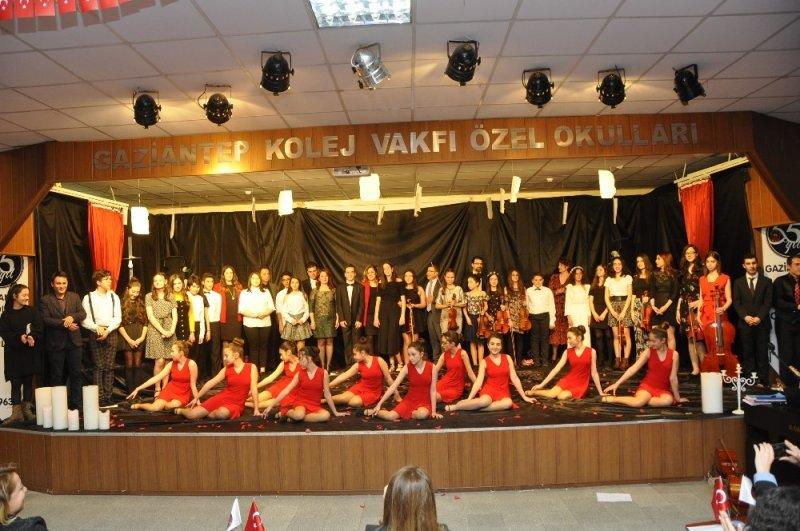 Gaziantep Kolej Vakfında bir bahar akşamı esintisi