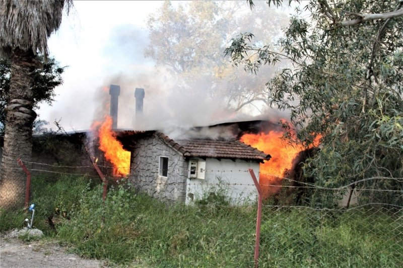 Datça'da restoran yangını