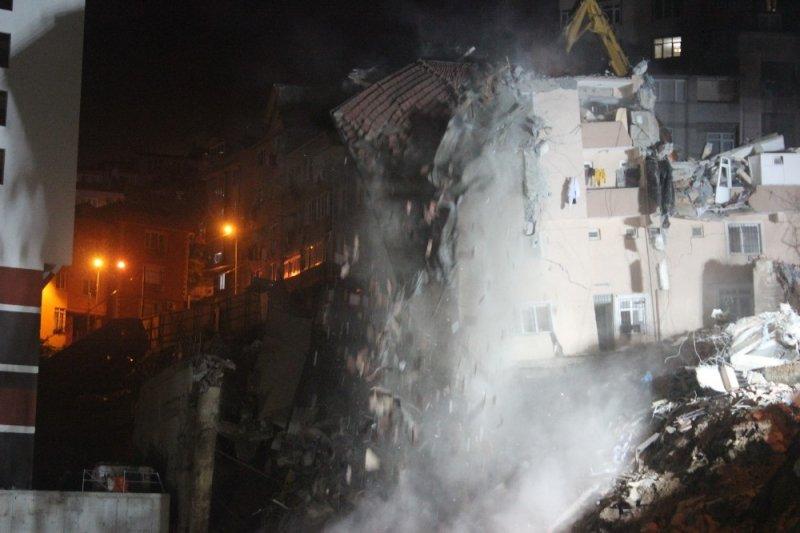 Kağıthane'de yıkım çalışmaları durduruldu