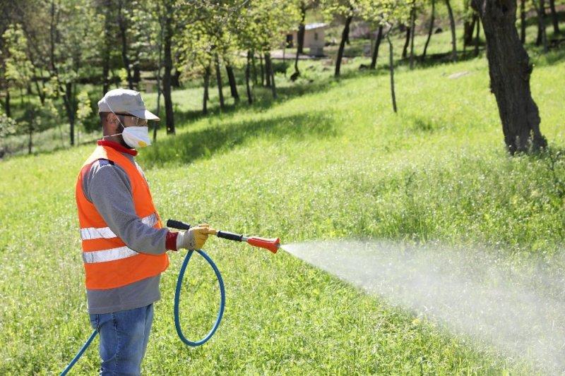 Büyükşehir Belediyesi ilaçlama çalışmalarına devam ediyor