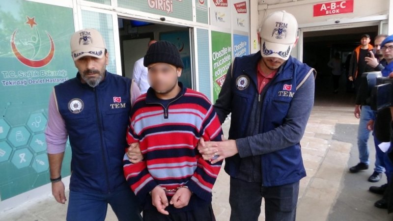 Anzak günü etkinliklerinde eylemsel faaliyetlerde bulunabileceği değerlendirilen DEAŞ'lı adliyeye sevk edildi