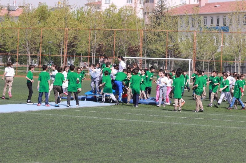 Konya'da sağlıklı yaşam için hareket etkinliği düzenlendi