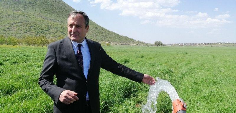 Çevik Kuvvet Atlı Polis Grup Amirliği'nde su kuyusu açıldı