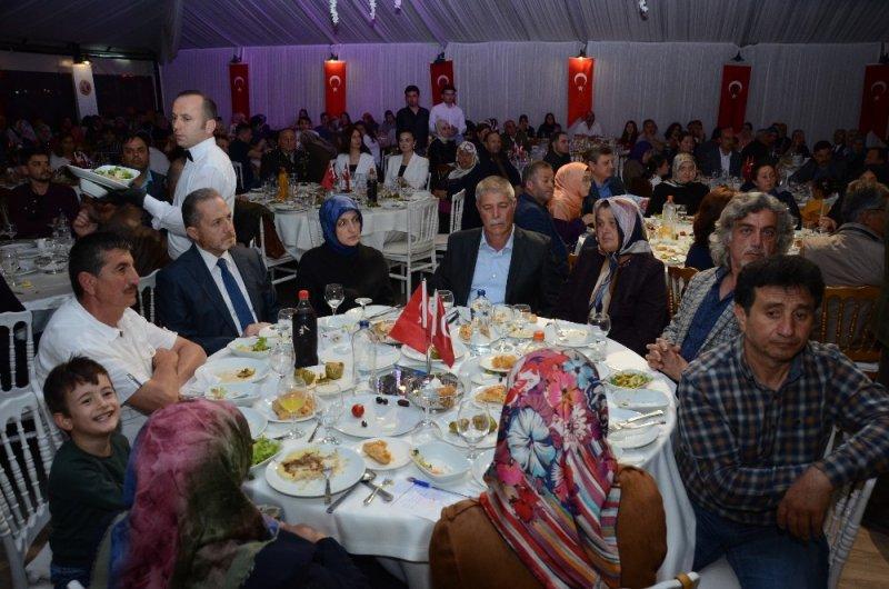 Ordu'da şehit yakınları ve gazilere iftar
