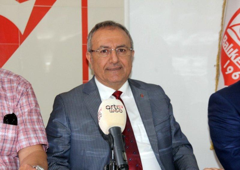 Balıkesirspor Baltok Başkanı Mustafa Bahçeci istifa etti