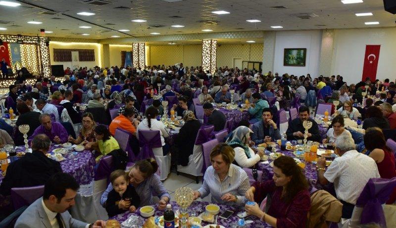 Başkan Ataç, engelli dernekleri iftar yemeğine katıldı