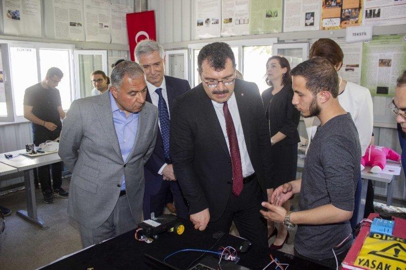 TÜBİTAK Başkanı Prof. Dr. Hasan Mandal, AOSB'de