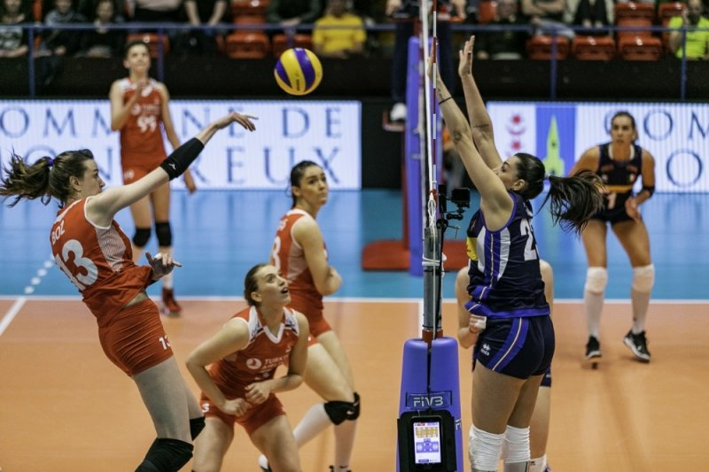 Filenin Sultanları, İtalya'ya 3-1 mağlup oldu
