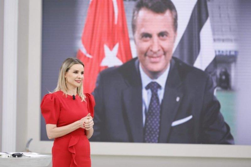 İlk adımı Esra Erol attı, destek Beşiktaş Kulübü Başkanı Fikret Orman'dan geldi