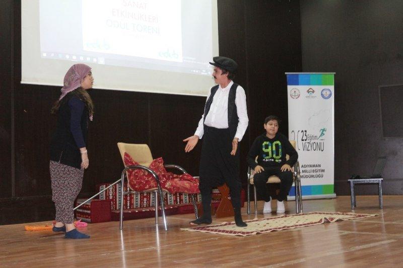 Yediyaman sanat etkinlikleri ödülleri sahiplerine verildi