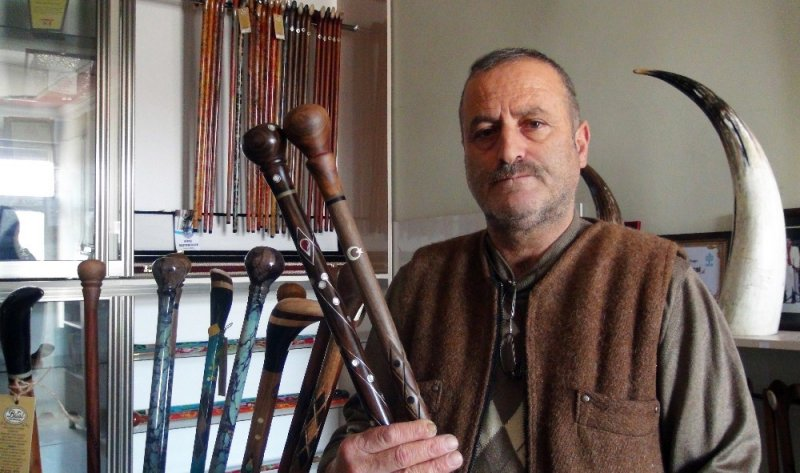 'Payitaht' bastonları Orta Doğu pazarında