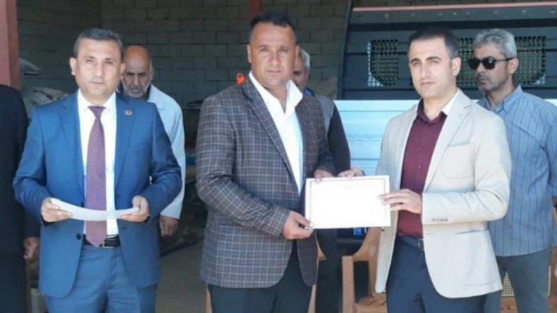 Güroymak'ta sertifika töreni