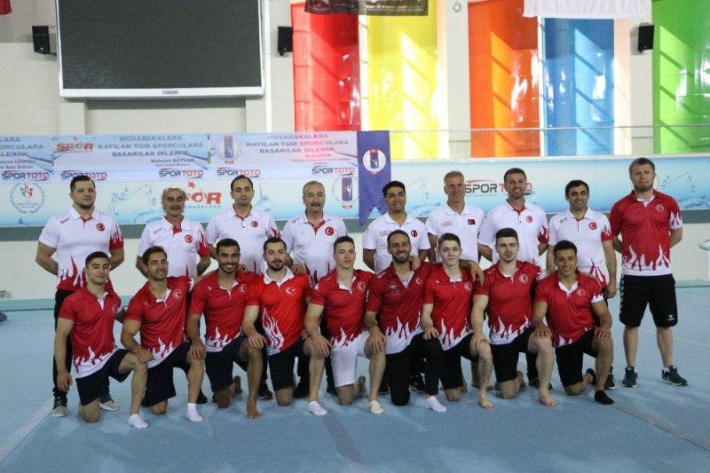 Artistik Cimnastik Büyük Erkekler Milli Takımı, takım halinde olimpiyatlara gitmek istiyor