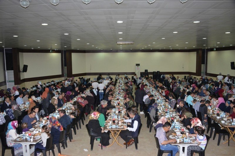 Gediz Belediyesi personeli iftar yemeğinde buluştu