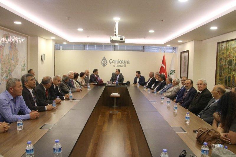 KARS-FED yönetiminden Taşdelen'e ziyaret