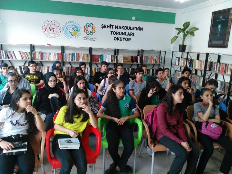 Kitap Kahve'de 'Okuma kültürü konuşuldu'