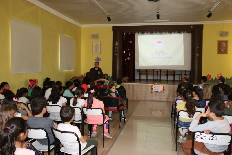 Okullarda gıda güvenilirliği eğitimleri veriliyor