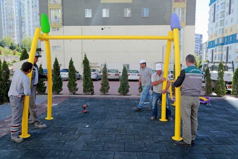 Talas'a 15 yeni park