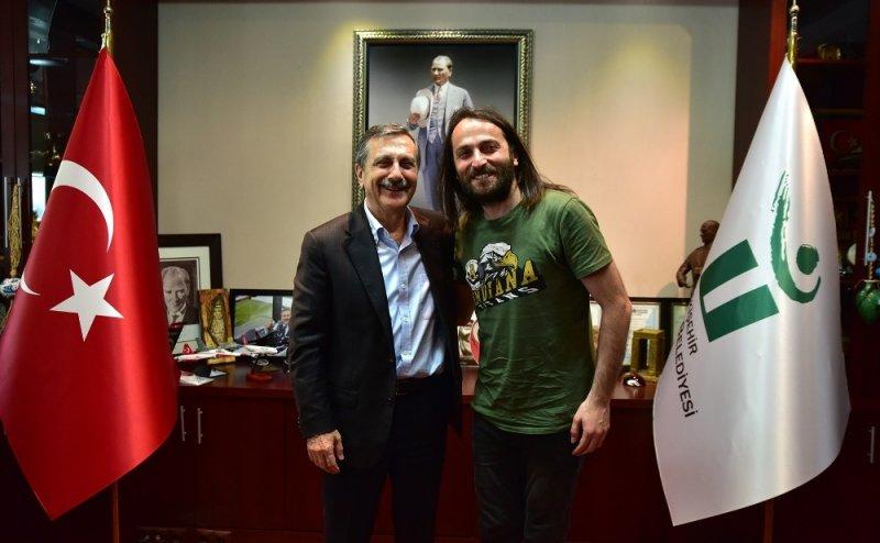 Niyazi Koyuncu ve Mithat Körler'den Başkan Ataç'a ziyaret