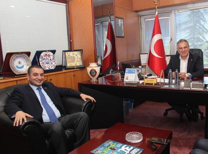 """TSİAD Başkanı Eren: """"Bölgemizin stratejik değerdeki ürünü fındığın tanıtımına katkı vereceğiz"""""""