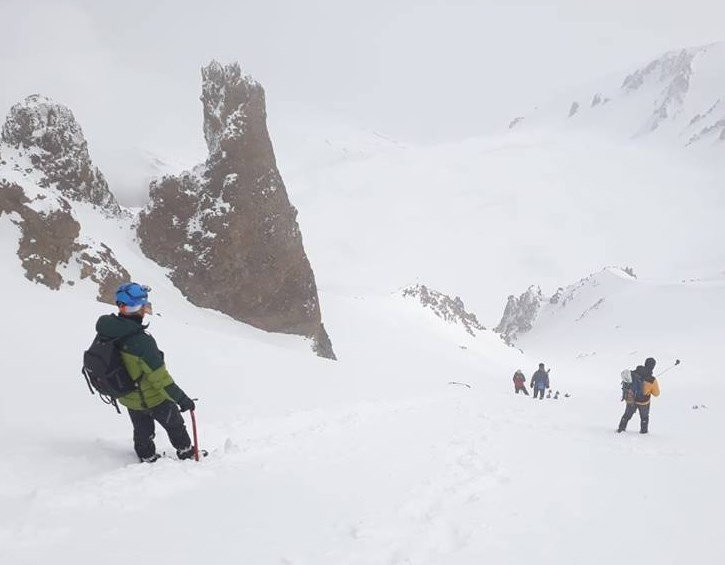 100. Yılında 19 Mayıs Erciyes Dağı'na Tırmanışı