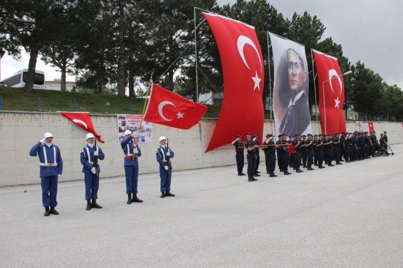 Yozgat'ta 18 engelli asker yemin etti