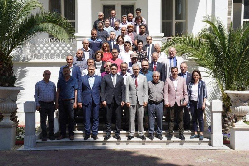 Başkan Acar ve beraberindeki heyetten Rektör Budak'a ziyaret