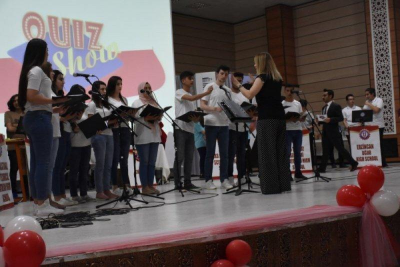 Liseler Arası Genel Kültür Bilgi Yarışması ''Quiz Show'' yapıldı