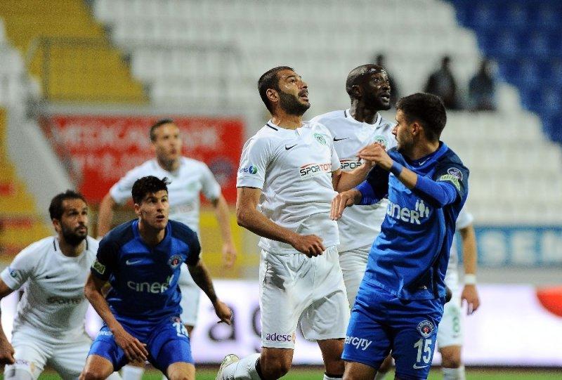 Spor Toto Süper Lig: Kasımpaşa: 0 - Atiker Konyaspor: 1 (İlk yarı)